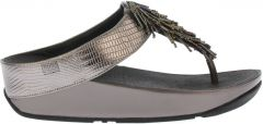 Fitflop Tm Cha Cha TM Suede Silver
